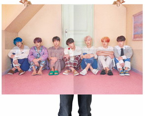 Poster Map Of The Soul PERSONA Concept 4 – BTS