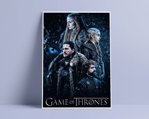 Poster Game of Thrones sem moldura