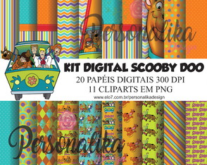 KIT DIGITAL SCOOBY DOO