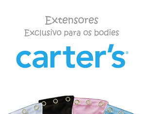 Kit 10 pçs - Extensor para body da Carter's