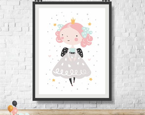 Poster Digital Princesa Alice