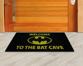 Tapete Capacho Divertido Geek Batman Welcome To The Batcave