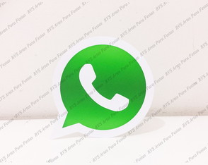 Display de mesa - tema rede sociais - Whatsapp