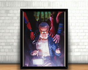 Quadro Stan Lee (Alex Ross)