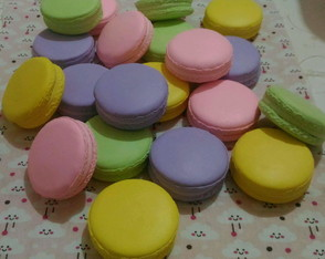 Macarons, Doces Fake de Biscuit