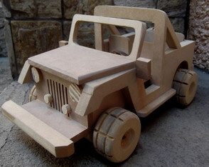 "MINI ""JEEP CROSS"" MDF CRÚ GROSSO ... SHOWW !!!"