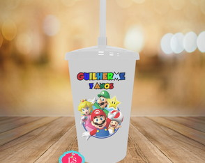 Copo Twister Super Mario 480 ml