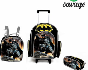 Kit Escolar do batman