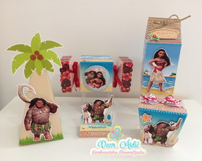 Kit Personalizados Moana ( 50 itens)