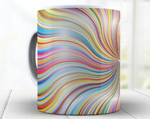 Caneca Multi Colorida cód: 1547g