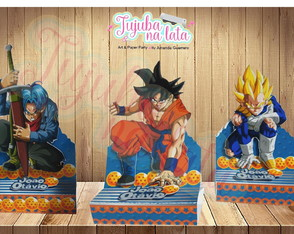 Porta chocolate Duplo Dragon Ball