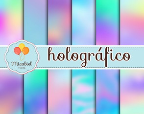 Papel Digital - Holográfico