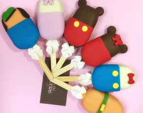Cakesicle | Popsicles | Cake pop | Mickey | Disney