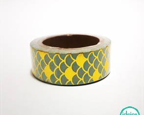 Washi tape com brilho (15 mm)