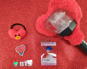 Cheering Kit Tata V BTS BT21 Kpop