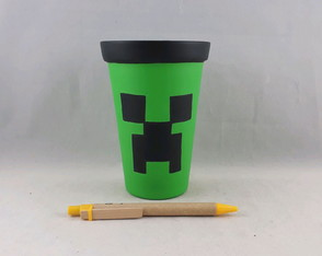 Vaso alto Creeper - Minecraft C.1802
