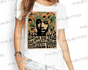 T-shirt Fashion Moderna Rock Ref 28