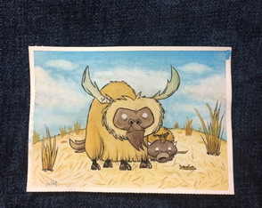 Beefalo, jogo Don't Starve Together