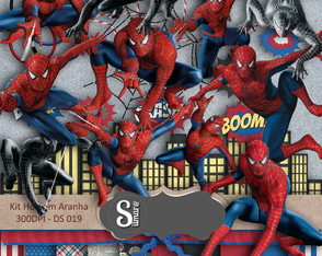 Homem Aranha Elite Kit Digital Scrapbook