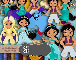 Aladdin Elite Kit Digital Scrapbook