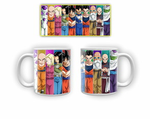 Caneca de Porcelana Dragon Ball Z