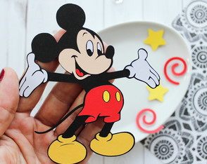 Happy Mickey Mouse (A264)