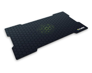 Mouse Pad Gamer Hexagons Green
