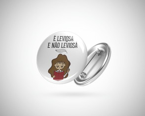 Botton / Broche Harry Potter Leviosa