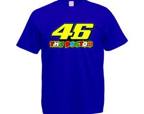 Camiseta Powered Valentino Rossi 46 The Doctor