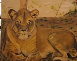 Animais Selvagens E A Linda Natureza Coleção De Artes