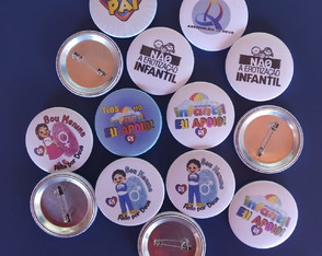 Bottons Personalizados 38mm