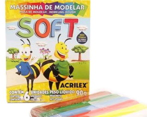 Massinha de Modelar Soft 90grs