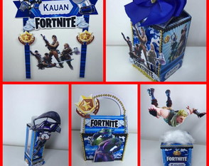 KIT FESTA FORTNITE