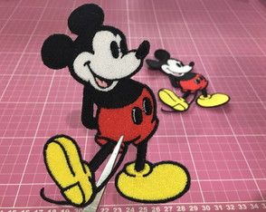 PATCH BORDADO MICKEY VINTAGE TERMOCOLANTE