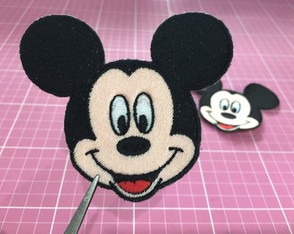 PATCH BORDADO MICKEY TERMOCOLANTE