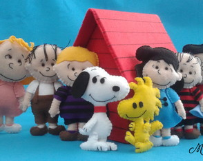 Turma do Snoopy - cliente Camille