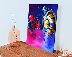Quadro Decorativo DeadPool - 30x45