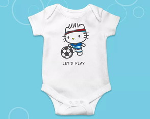Body Infantil Hello Boy