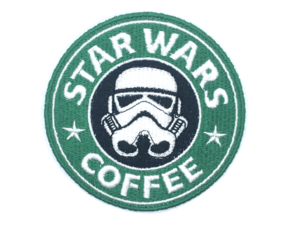Patch Bordado Star Wars Coffee