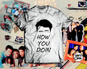 Camiseta Friends Joey