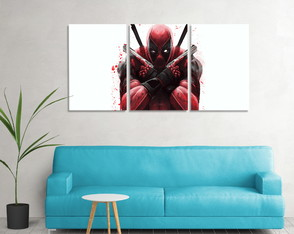 Kit de Quadros Personalizados DeadPool