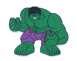 Patch Bordado Termocolante Lego Hulk