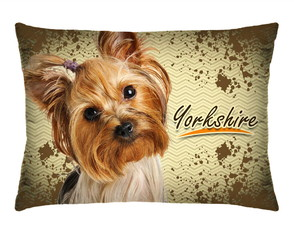 Travesseirinho Decorativo Cachorrinho York Shire C Refil 169
