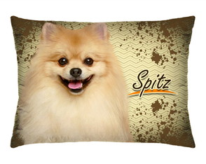 Travesseirinho Decorativo Cachorrinho Spitz Com Refil 172