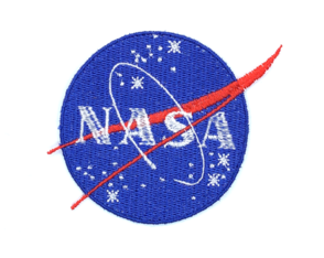 Patch Bordado Termocolante Nasa