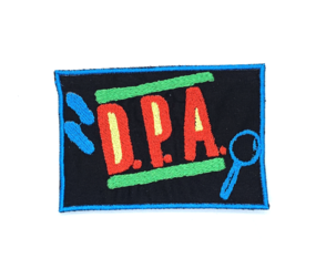 Patch Bordado Termocolante DPA - Detetives do Prédio Azul