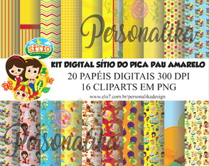 KIT DIGITAL SÍTIO DO PICA PAU AMARELO