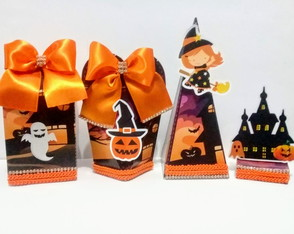 Kit Festa Halloween - kit com 24 pcs