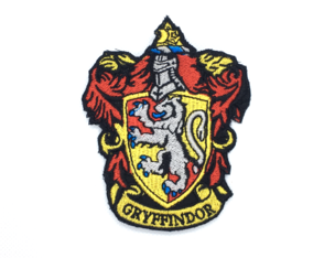 Patch Bordado Brasão Grifinória Harry Potter - modelo2