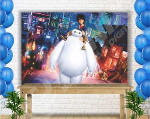 Painel Sublimado Big Hero 200x140 cm